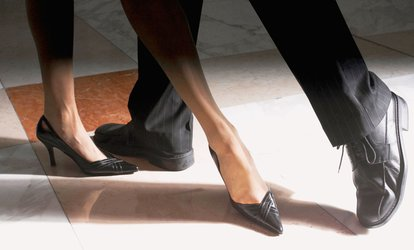 Five Ballroom-<strong>Dance</strong> Lessons for Couple or Individual at Candlelight <strong>Dance</strong> Club (81% Off)