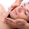Taglio moda uomo e massaggio