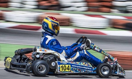 2 tandas de karting para niño o adulto en Cartagena Karting Club (hasta 53% de descuento)