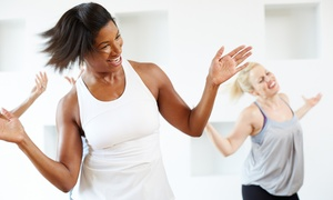 Fusion Fit & Well: 5 Zumba Classes or One Month of Unlimited Zumba Classes at Fusion Fit & Well (Up to 58% Off)