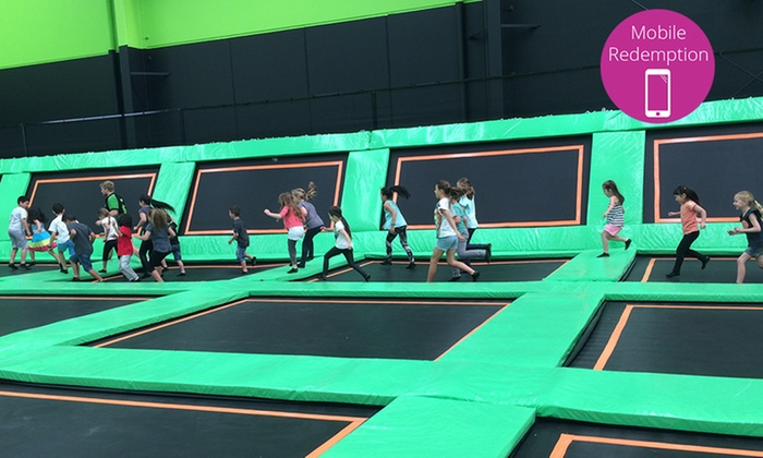 Flipout Trampoline Arena - Clayton South: Trampoline Entry - One ($7) or Two Hours ($15) for One Person at Flipout Trampoline Arena (Up to $26 Value)