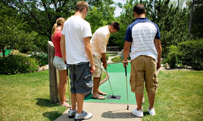 Grand Island Fun Center - LaSalle: Unlimited Mini Golf for Two, Four, or Six or Water Wars for Up to Four at Grand Island Fun Center (Up to 50% Off)