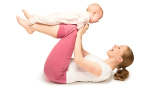 Commit To Change: 10 or 15 Mommy & Me, Pilates or Yoga Classes of Your Choice at Commit To Change (Up to 67% Off)