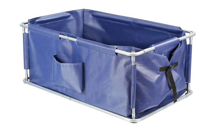 portable pet bath groupon. Black Bedroom Furniture Sets. Home Design Ideas