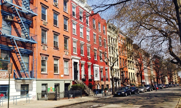 New 2 NY Tours - Think Coffee - East Village Tour meeting spot: Neighborhood Walking Tour for One, Two, or Four from New 2 NY Tours (Up to 56% Off)