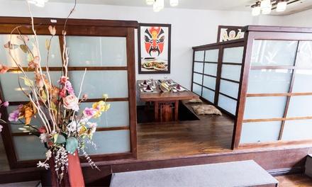 Bufet japonés libre para 2 o 4 personas de lunes a jueves o de viernes a domingo desde 16,95 € en Sakura VII