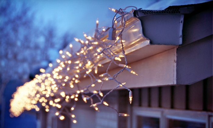 Niagara Christmas Lights - Thorold: Holiday-Lights Installation for a One-Storey or Two-Storey Home from Niagara Christmas Lights (Up to 68% Off)