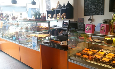 French Meal, Hot Drink and Cake for Two at Patisserie Maxime (Up to 49% Off)