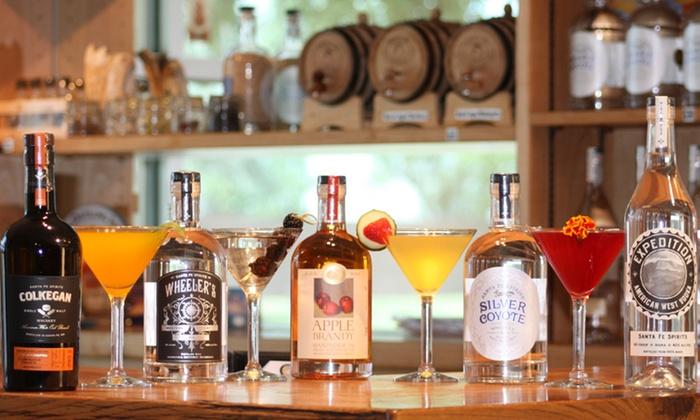 Santa Fe Spirits - Santa Fe: Distillery Tour, Spirit, Tasting and Cocktails for 2, 4, 6, or 8 at Santa Fe Spirits Distillery (54% Off)