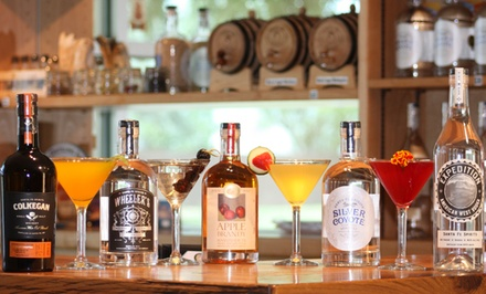 Distillery Tour, Spirit, Tasting and Cocktails for 2, 4, 6, or 8 at Santa Fe Spirits Distillery (54% Off)