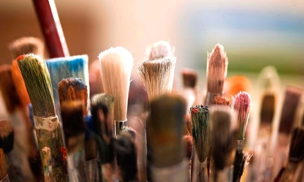 BYOB Painting Class and Drinks for One or Two at The Loaded Brush (Up to 40% Off)