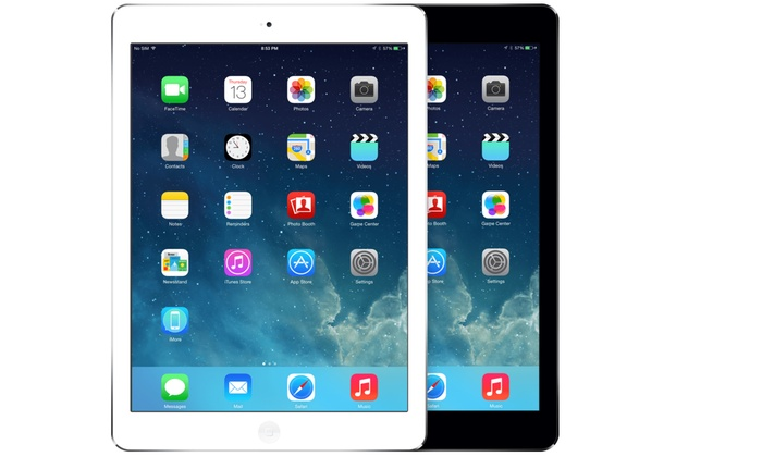 iPad Air 16GB, 32GB, or 64GB WiFi or WiFi + 4G Tablets (GSM Unlocked) (Refurbished)