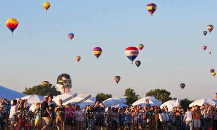 Two or Four 1-Day Tickets to the QuickChek New Jersey Festival of Ballooning July 24, 25, or 26 (Up to 49% Off)