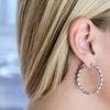 CZ by Kenneth Jay Lane Cubic Zirconia Crystal Earrings