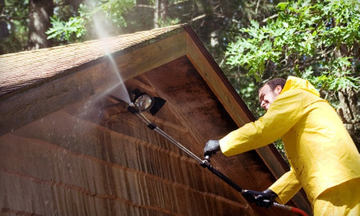 Under Pressure USA - Memphis: Pressure Washing for One or Two Stories from Under Pressure USA (Up to 56% Off)