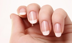 Platinum Pink Couture: A Spa Manicure and Pedicure from Platinum Pink Couture Spa-Tique (55% Off)