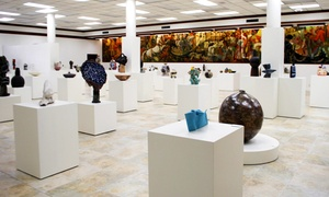 American Museum of Ceramic Art (AMOCA): Admission for Two or Four to the American Museum of Ceramic Art (AMOCA) (Up to 46% Off). Two Options Available.