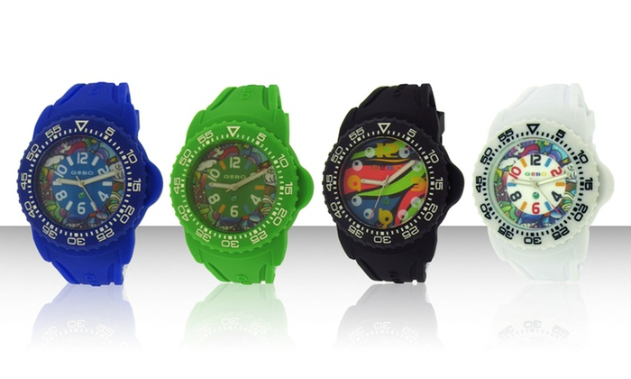 GeBo Unisex Colors of the World Watches: GeBo Unisex Colors of the World Watches. Multiple Styles Available. Free Returns.
