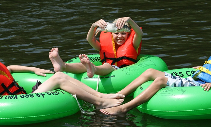 Bucks County River Country, Inc. - Point Pleasant Bucks County: Tubing for Two or Four from Bucks County River Country, Inc. (Up to 52% Off)