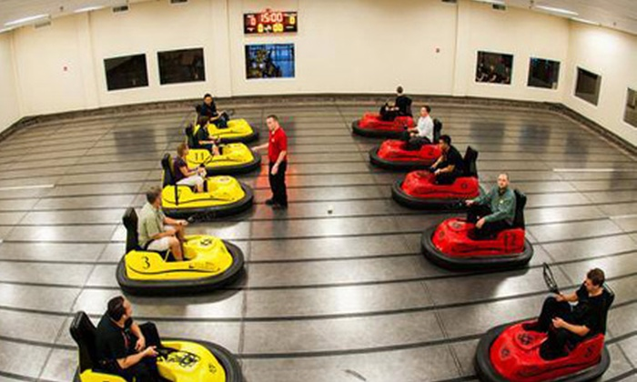 WhirlyDome - Orlando: Whirlyball, Laser Tag, or Formula One Racing Simulator for 2 or 4 with Tokens and Drinks at WhirlyDome (Up to 53% Off)