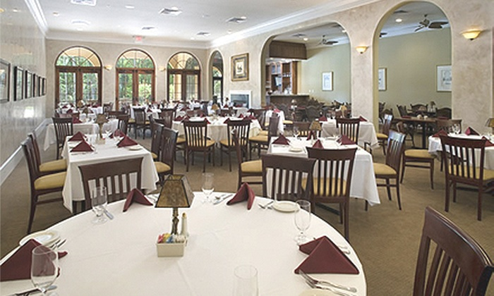 Alaqua Country Club - Alaqua: Dinner for Two or Four or Four-Hour Banquet-Room Rental at Alaqua Country Club (Up to 51% Off)