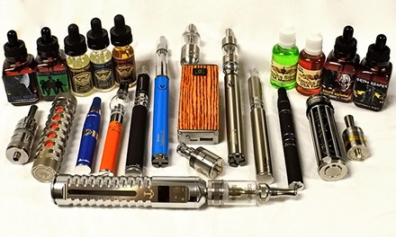E-Cigarettes and Accessories at Atmos Vapor Lounge - West Palm Beach (Up to 50% Off). Two Options Available