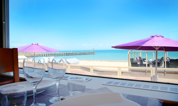 La crémaillère et le Gytan - Courseulles Sur Mer: Côte Normande : Nuitée avec petit déjeuner, dîner, sauna et vélo en option à La Crémaillère pour 2 personnes