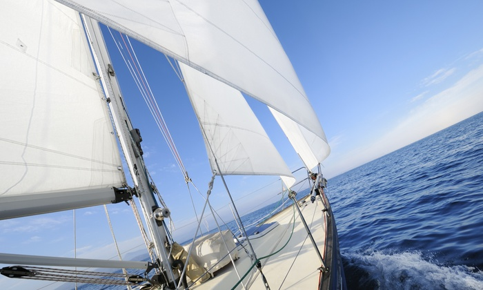 Broad Reach Charters, Inc. - Treasure Island: $185 for a Three-Hour BYOB Sailboat Charter for Up to Six from Broad Reach Charters, Inc. ($299 Value)