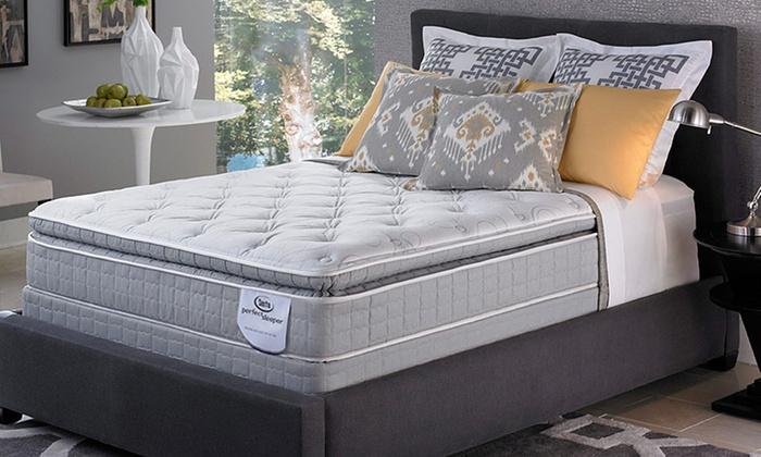 fb22c3f81cd09 Serta Perfect Sleeper Hazelview Pillow-Top Mattress
