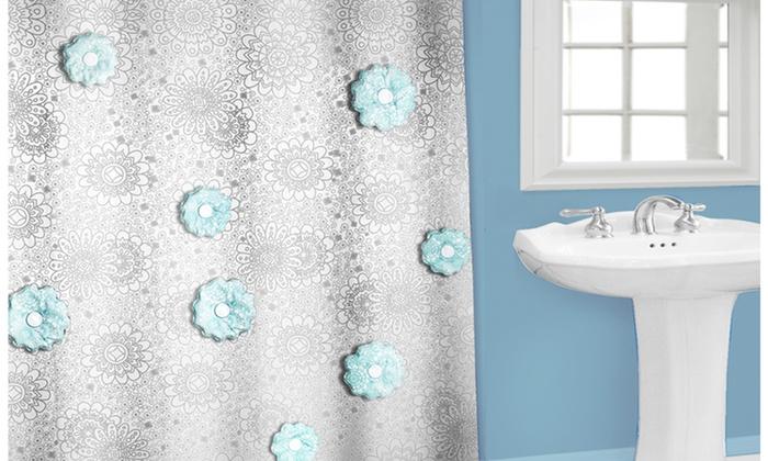 Popular Bath 3D PEVA Shower Curtain: Popular Bath 3D PEVA Shower Curtain. Multiple Styles Available. Free Returns.