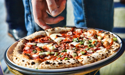 Artisan Woodfired Pizza Dinner for Two or Four at Bellizzi (Up to 46% Off)