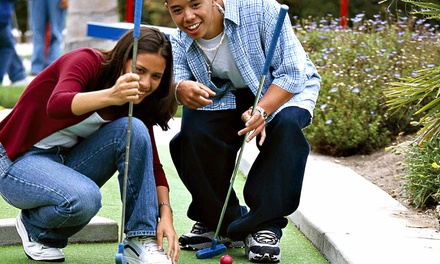 Two Groupons, Each Good for 18 Holes of Mini Golf for Two or Four at Putter-A-Round Mini Golf (Up to 54% Off)