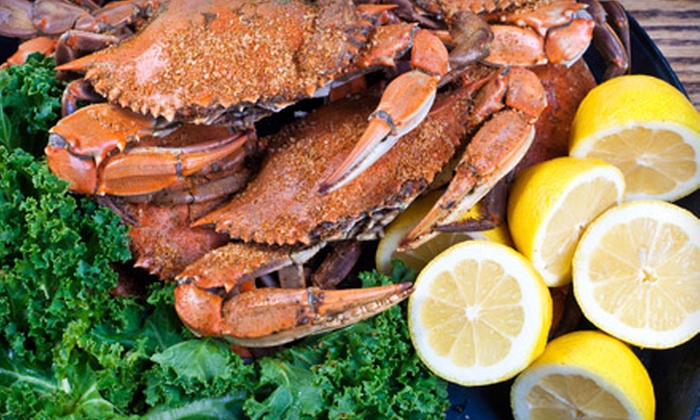 Steamers Seafood House - Bethesda: Seafood and American Cuisine for Two or Four at Steamers Seafood House (Half Off)