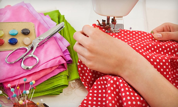 Gentler Times Stitching - Heritage Square: Sewing Supplies or Classes at Gentler Times Stitching in Naperville (Half Off)