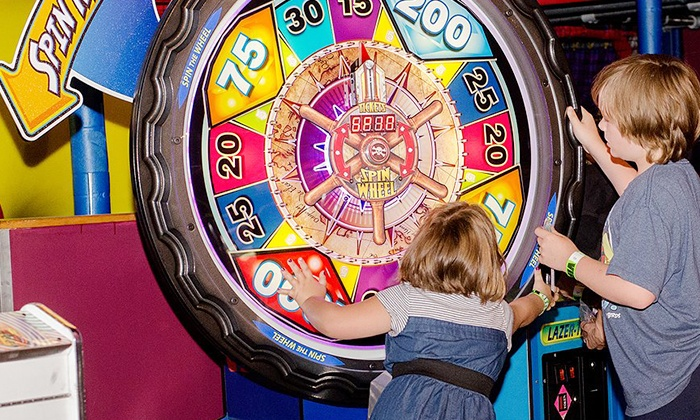 Planet X - Fun Center - Planet X: Gaming or Party Package at Planet X (Up to 49% Off). Four Options Available.