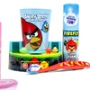 Hello Kitty or Angry Birds Toothbrush Cup and Timer Gift Set