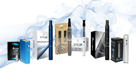 $20 for $50 Worth of Vaporizers, Oils, and Accessories from Atmos & SMK24.com