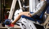 Eagle Fitness Health Club - South Des Moines: 10-Session Health Club Punch Card w/ Optional 10 UV Tanning Passes at Eagle Fitness Health Club (Up to 54% Off)