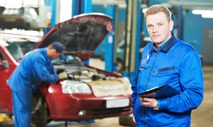 R J Engineering: 62-Point Full Service with Oil and Filter Change and Optional MOT and Air Con Re-Gas at R J Engineering (Up to 67% Off)