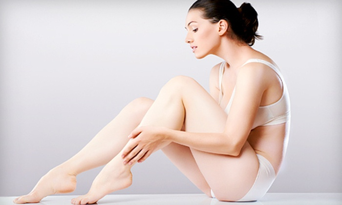 Serenity Spa - Woodfin: Three Laser Hair-Removal Treatments on Legs, Torso, or a Small, Medium, or Large Area at Serenity Spa (Up to 75% Off)