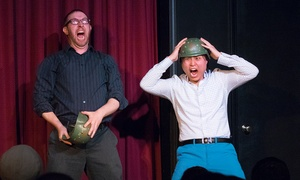 Laugh Out Loud Theater Schaumburg: Improv-Comedy Show with Popcorn (Through October 29)