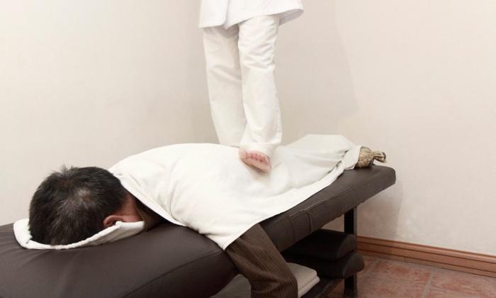 Get Deep Massage - Centennial: One or Three 60-Minute Ashiatsu Massages at Get Deep Massage (Up to 55% Off)