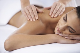 Radiant Roots Organic Spa: One or Three Massages at Radiant Roots Organic Spa (Up to 45% Off). Four Options Available.