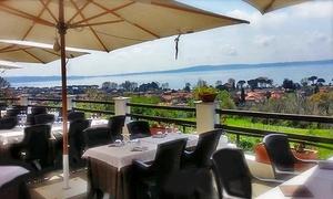 Le Terrazze sul Lago (Trevignano): Menu di pesce o degustazione con vino sul Lago di Trevignano (sconto fino a 69%)