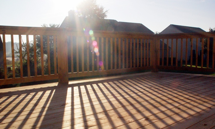 Mike Lloyd Construction - Chicago:  $1,999 for a Treated-Wood Deck Construction with Ornamental Railings from Mike Lloyd Construction (Up to $3,200 Value)
