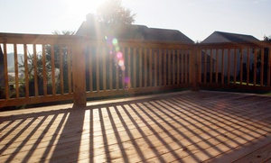 Mike Lloyd Construction: $1,999 for a Treated-Wood Deck Construction with Ornamental Railings from Mike Lloyd Construction (Up to $3,200 Value)
