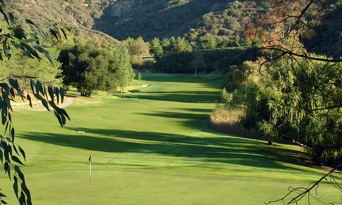 Malibu Golf Club - Agoura Hills-Malibu: Nine-Hole Playing Lessons with PGA Instructor Gene Hori at Malibu Golf Club (Up to 67% Off). Three Options Available.