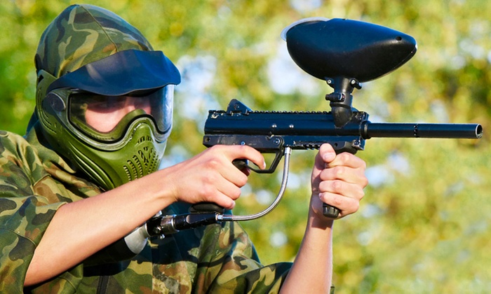 The Fun Farm - Corydon: All-Day Paintball with Equipment for Two, Four, or Six at The Fun Farm (Up to 91% Off)