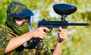 The Fun Farm: All-Day Paintball with Equipment for Two, Four, or Six at The Fun Farm (Up to 91% Off)