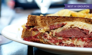 European Street Cafe: $11.49 for $20 Worth of Sandwiches and Bistro Cuisine at European Street Cafe